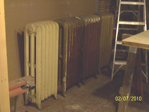 Antique radiators from ReHouse