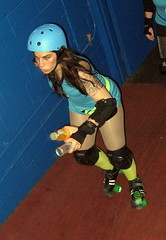 Roller Girl with a Bad Reputation