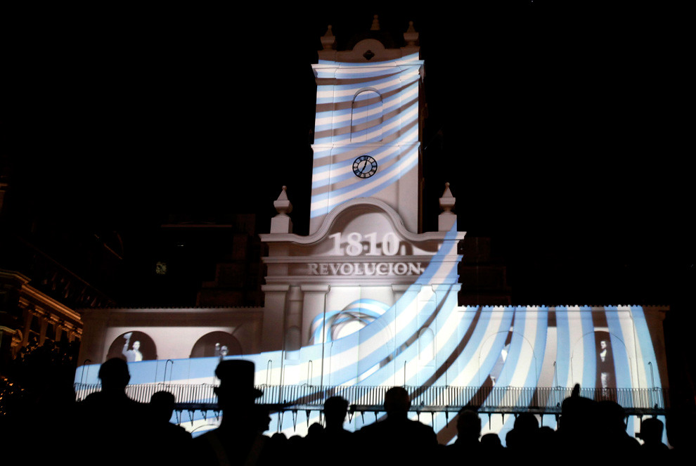 Cabildo Laser Projection 3D