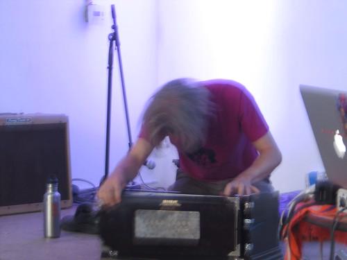 Justin McInteer at Bottled Smoke II