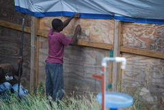 Haiti: Securing the roofs