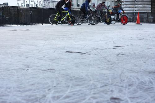 Icy court