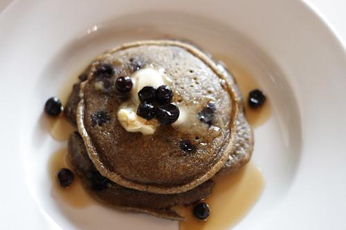 buckwheat valentine's day pancakes