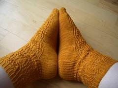 Knit Love Club 2010 #1 - Rumpled FO
