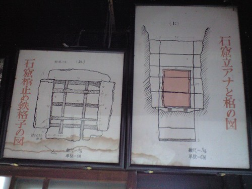 仏海上人が埋葬されていたときの図解