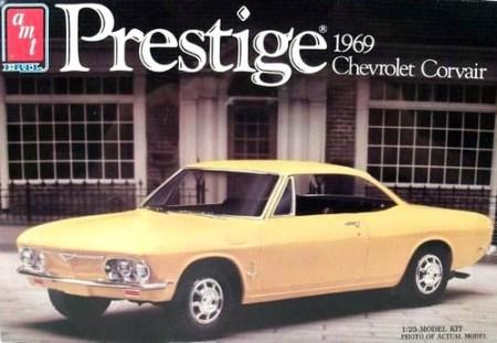 AMT 1969 coupé kit