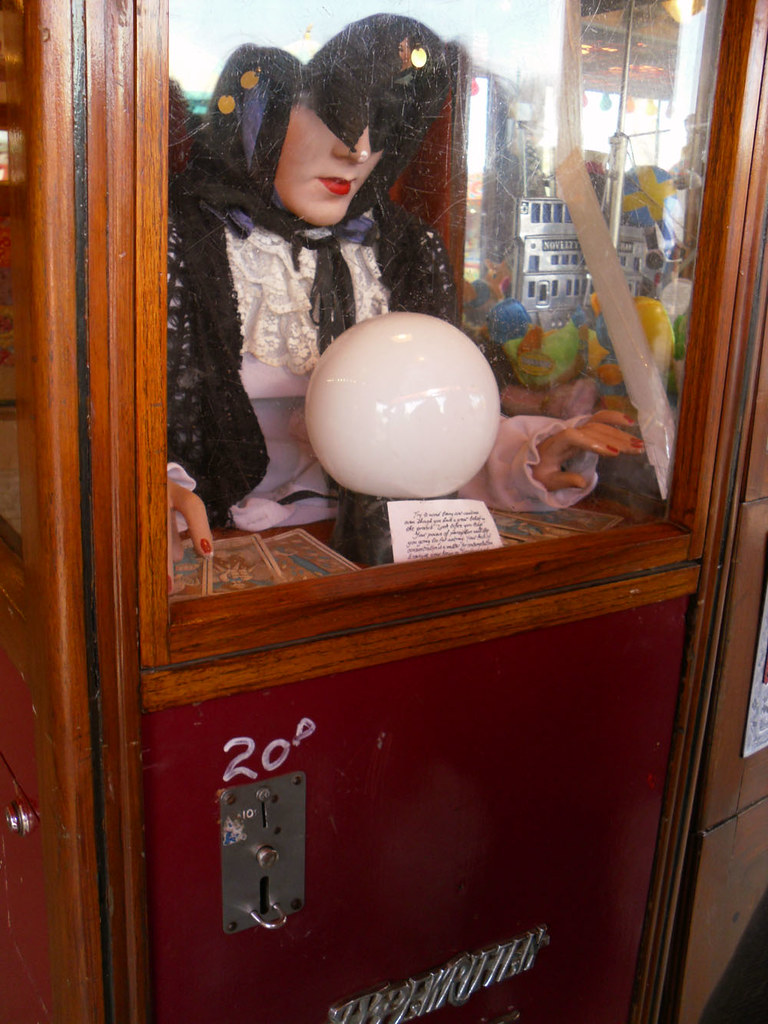 Victorian Fortune Telling machine