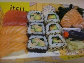 adventures of a gluten free globetrekker Sushi Lunch...Itsu Gluten Free News