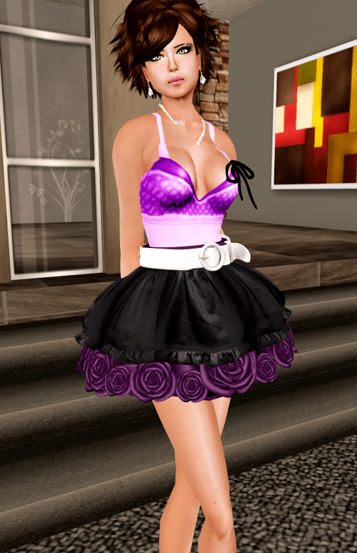 NEW! -Phoenix Rising- Fib Skirt and Reach Tank