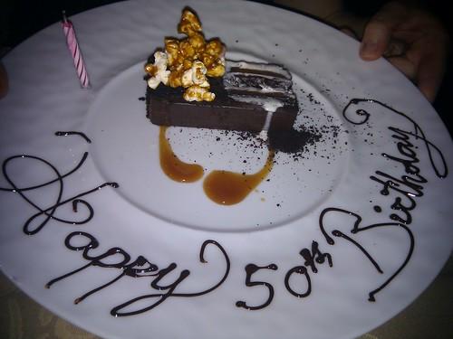 Chocolate cake, Joey restaurant, Newberg.