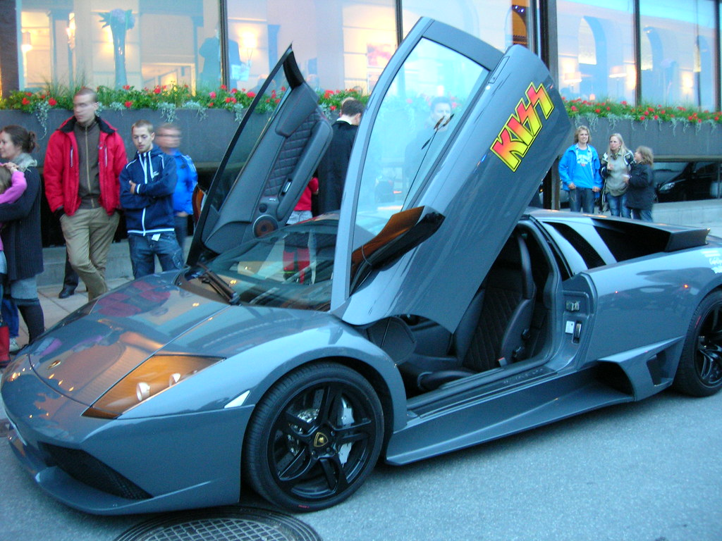 Lamborghini for the KISS in Stockholm - 4