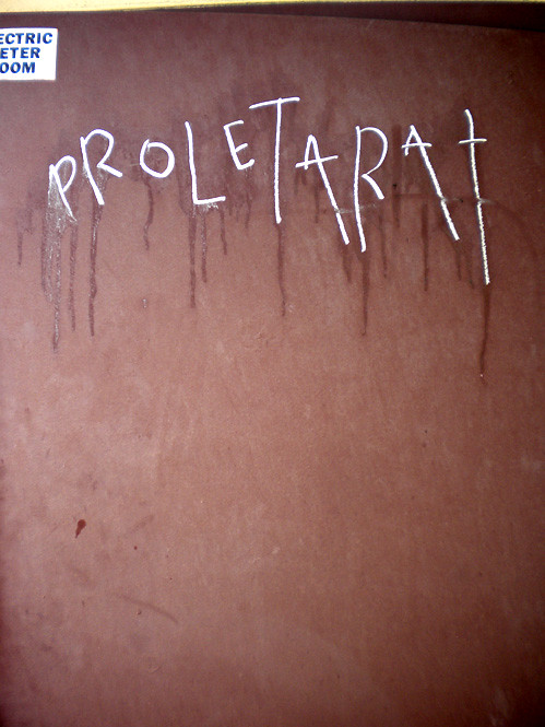 I think he meant Proletariat