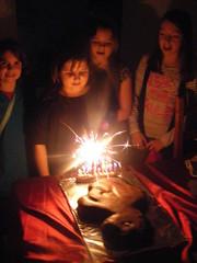 Poppys 9th birthday party 008