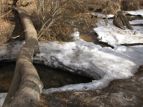 Log over frozen stream