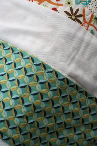 Burp cloths by Larissa