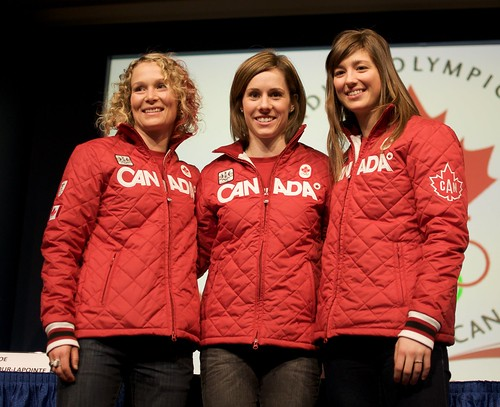 Canadian Olympic Women's Moguls Team