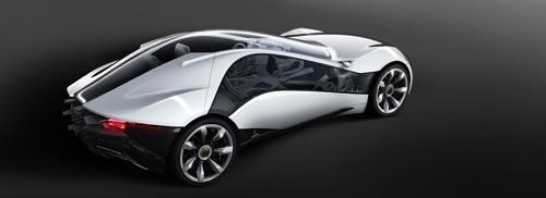 Bertone 2010 PANDION AR Dream Car Geneva