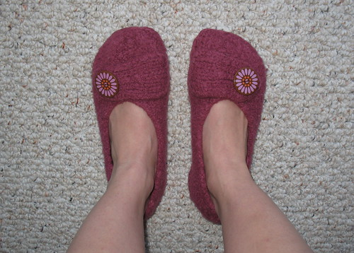Mommy's French Press Slippers