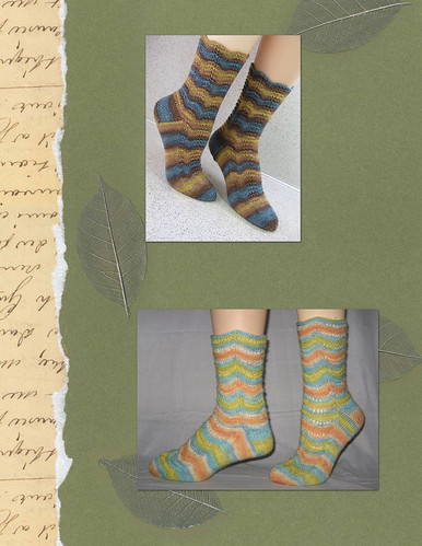 Medium Sock Patterns