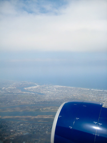 landing in narita