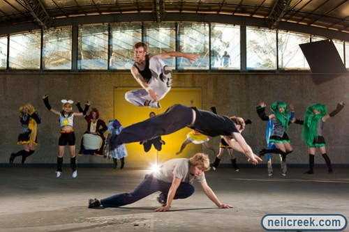 Parkour and Cosplay Jump!