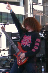 Nick McMaster of Krallice at Maryland Deathfest VIII