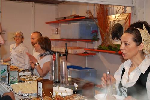 Feria Concurso Santurtzi 2010. Stand Pazo Doval