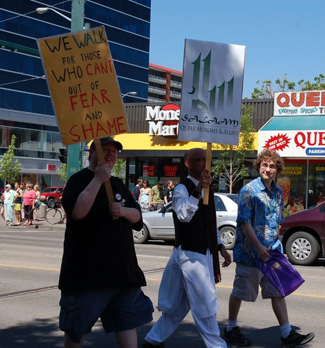 Queer Muslims and Allies in Edmonton's 2010 Pride Parade