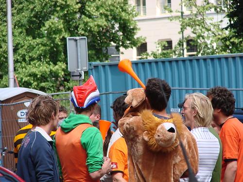 Welpie and Vuvuzela [Day 167/365]