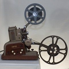 Ampro Super Stylist 16mm sound movie projector