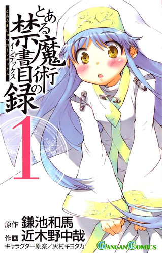 Toaru Majutsu No Index Vol 1
