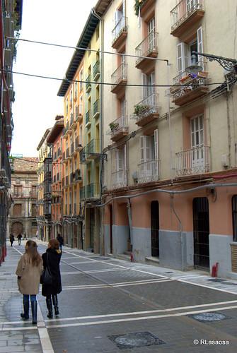 Casas de la calle Navarrería, Pamplona