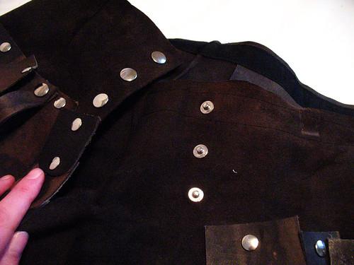 Xena skirt - closure