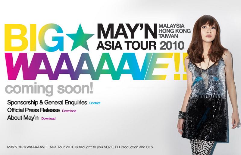 May'n Asia Tour 2010