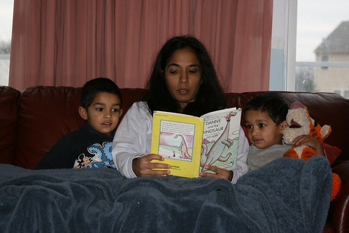 Project 52-4 Reading in PJs