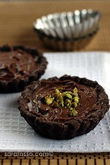 Nutella & Mascarpone Cream Chocolate Tarts for World Nutella Day 2010
