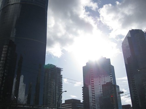 Sun Over Wall Centre