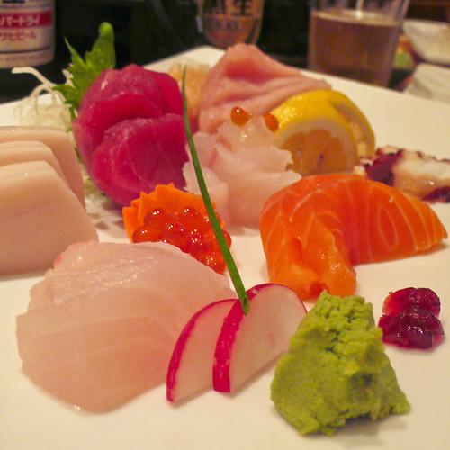 sashimi feast by unicellular