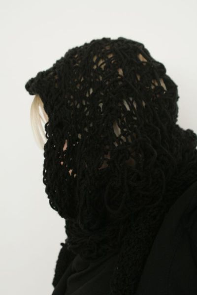 scarf hood