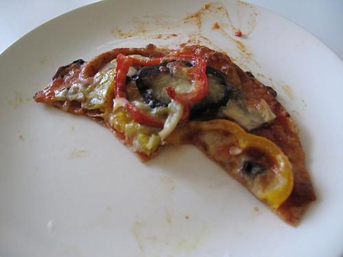 Eggplant pizza 5