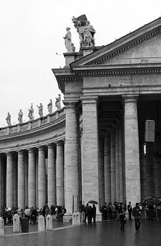 St. Peter's basilica, Rome, Vatican, Italy, Mass, Easter
