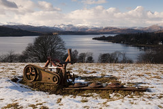 Looking over Windermere towards Langdale, near Bowness