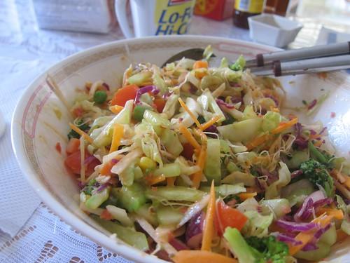 <3 Mum's salad