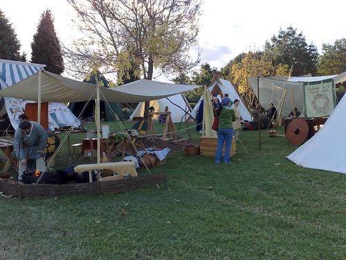 Ancient Arts Fellowship encampment