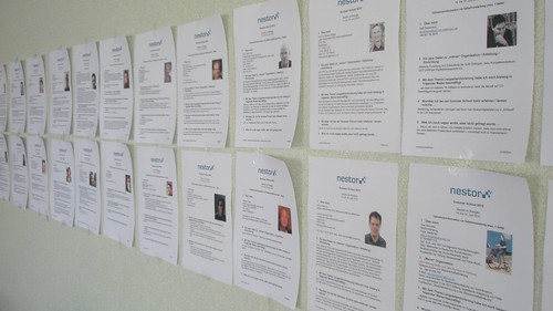 wall of participants