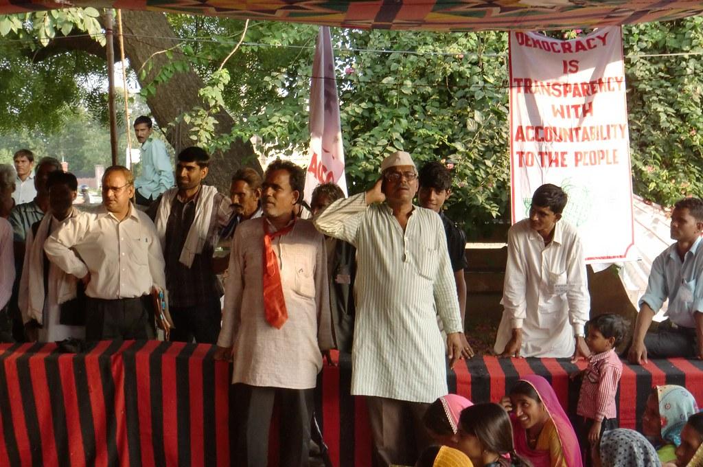 Pics from the satyagraha - 14 Oct 2010 - 8