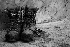 Worked Boots