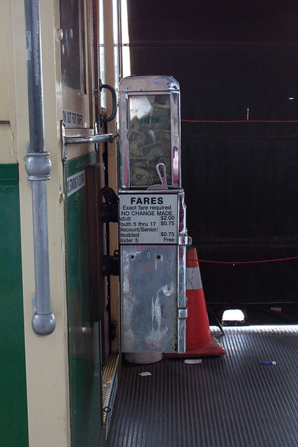 Fare Box on Car 496
