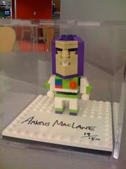 Cube Dude Buzz Lightyear - 2010 LEGO Toy Fair Premium