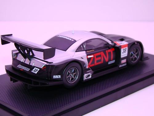 EBBRO ZENT CERUMO SC430 SUPER GT 2009 OKAYAMA TEST (6)